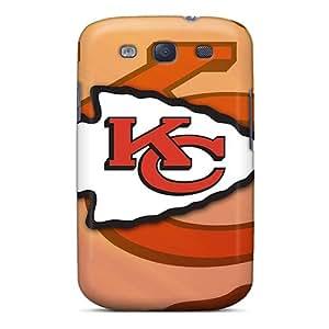 Samsung Galaxy S3 MQW5781ZwGE Allow Personal Design High-definition Kansas City Chiefs Skin Protector Cell-phone Hard Cover -AnnaDubois