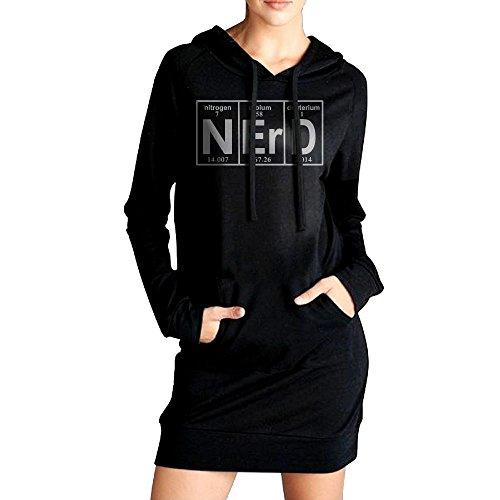 Funny Elements Of Nerd Women's Outerwears,Long Sleeve Hoody For (Funny Halloween Wallpaper Hd)