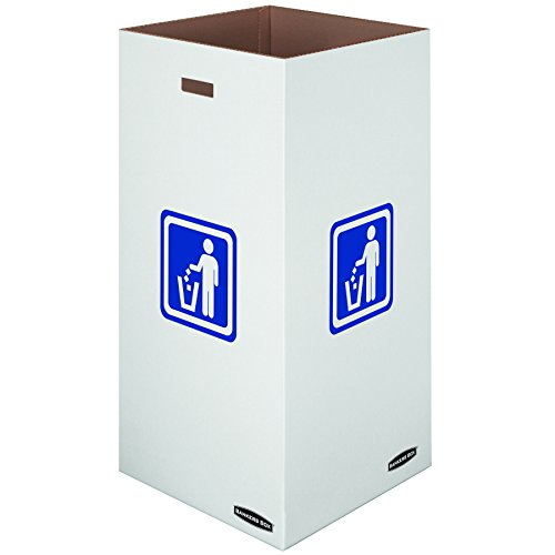 Top 4 best bankers box large corrugated cardboard trash: Which is the best one in 2019?