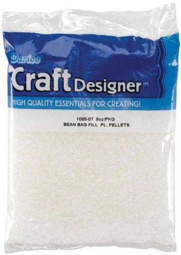 Darice 1088-07 Bean Bag Fill Plastic Pellets 8oz Bag]()