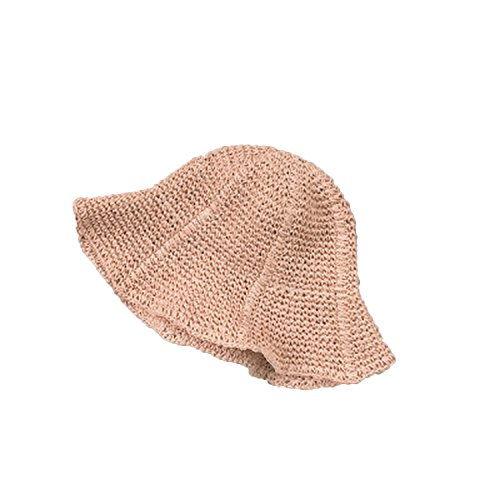 Price comparison product image Heart .Attack Manual Hat ladiessunshade Big Hat Folded Out to Swim Fisherman Hat, Pink, M (56-58cm)