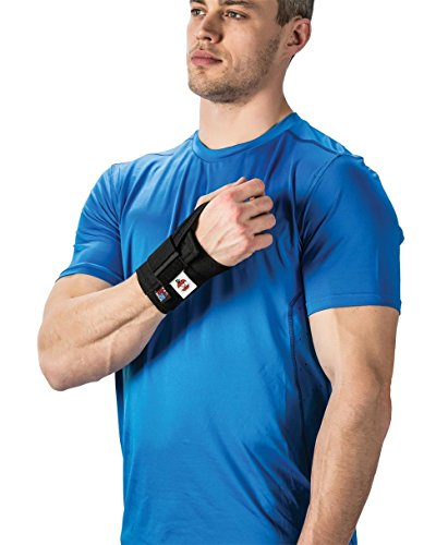 Wrist Support w/Reflex Pad and 1 Strap - Right, Medium -  Core Products, Core-6800-Medium-Right