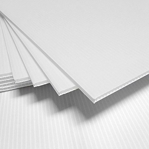 Corrugated Plastic 4MM White Sign Blanks - 24
