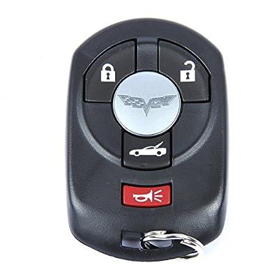 ACDelco 10372541 GM Original Equipment 4 Button Keyless Entry Remote Key Fob