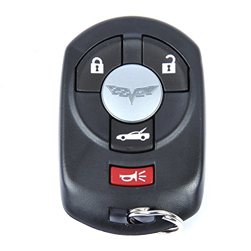 ACDelco 10372541 GM Original Equipment 4 Button Keyless Entry Remote Key Fob
