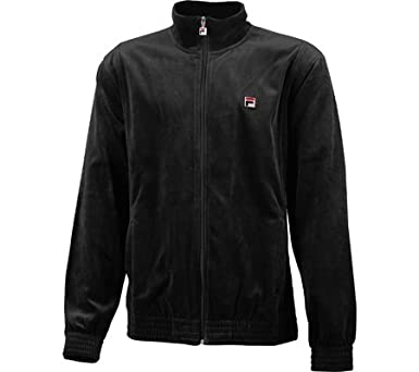 fila velour track jacket