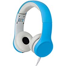 Snug SNPLPLBL  Play+ Kids Headphones Volume Limiting and Audio Sharing Port (Blue)