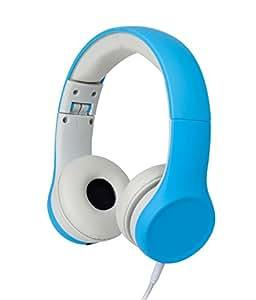 Snug SNPLPLBL  Play+ Kids Headphones Volume Limiting and Audio Sharing Port (Blue)