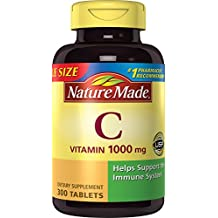 Nature Made Vitamin C 1000 mg Tablets Value Size 300 Ct