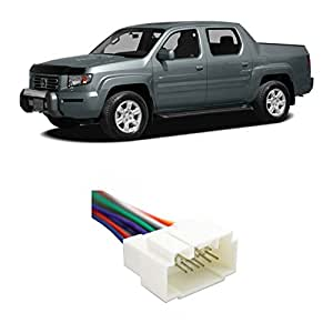 Sensational Amazon Com Fits Honda Ridgeline 2005 2008 Factory Stereo To Wiring Cloud Brecesaoduqqnet