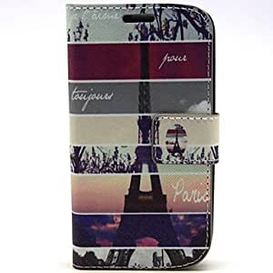 Teléfono Móvil Samsung - Carcasas de Cuerpo Completo/Fundas con Soporte - Gráfico/Diseño Especial - para Samsung S3 I9300 Plástico/Cuero PU )
