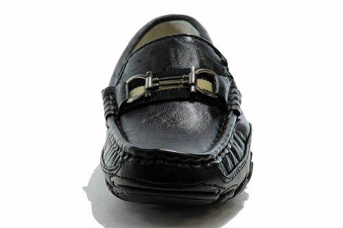 Easy Strider Boys The Performance Fashion Loafer Uniforme Escolar Zapatos Negro