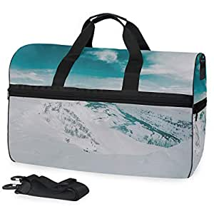 Amazon.com: Glakc High-Capacity Lightweight Travel Bag ...