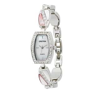 Croton Women's CR207891PKMP Mother of Pearl Bracelet Watch