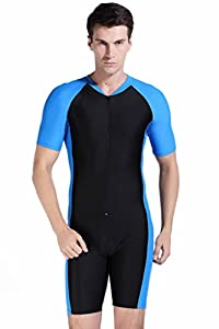 Amazon.com : Cokar Short Sleeve One Piece Swimwear