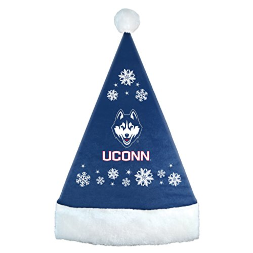 Cincinnati Bearcats Santa (Boelter Brands NCAA Cincinnati Bearcats Snowflake Santa Hat, Red, 17.25