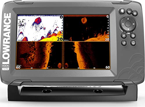 7-inch Fish Finder with TripleShot Transducer and GPS Plotter … ()