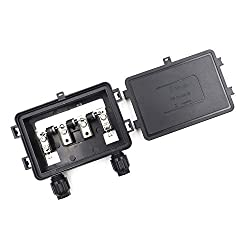 Davitu Solar Junction Box for Solar Panel 130W 140W 150W 175W 180W 200W connect PV junction box solar cable connection with Diodes