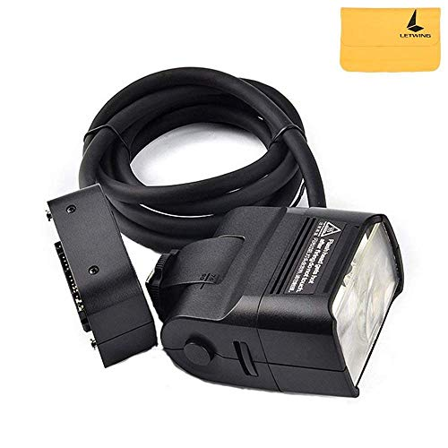 GODOX EC200 AD200 Remote Separation Extension Head with Hot Shoe and 2M Cable Portable Off-Camera Light Lamp for Godox AD200 Pocket Flash ()