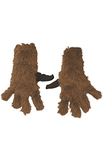 [Rubie's Costume Guardians Of The Galaxy Vol. 2 Child's Rocket Raccoon Gloves, One Size] (Galaxy Girl Costumes)