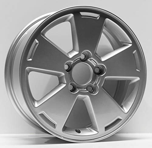 Partsynergy Replacement For New Replica Aluminum Alloy Wheel Rim 16 Inch Fits 2006-2012 Chevrolet Impala 5-115mm 5 Spokes ()