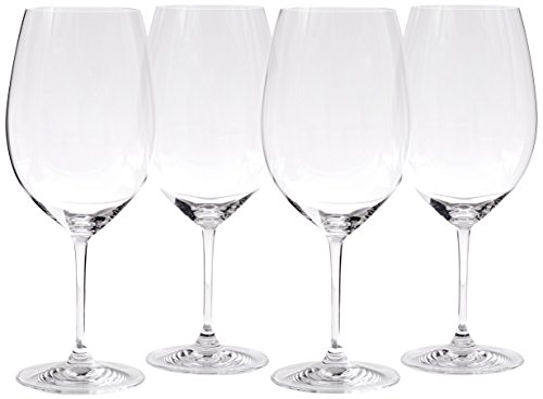 - Riedel Vinum XL Cabernet Glass, Set of 4