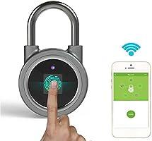 Huellas Candado, Bluetooth, Impermeable Smart Candado Adecuado ...