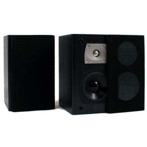 Theater Solutions B1 Bookshelf Speakers (Black)