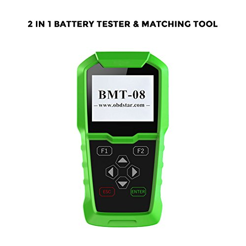 OBDSTAR Automotive Battery Tester, BMT-08 12V/24V Battery Analyze Lead Acid Battery Configuration Tool by OBDSTAR
