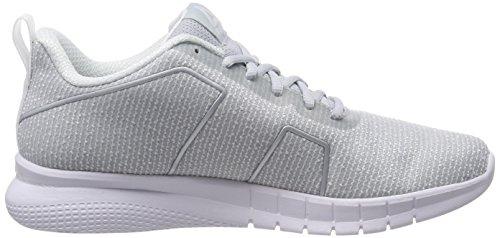Ash Met Gris Instalite Femme Silver 000 Reebok Grey Pro White Black de Running Grey Chaussures Compétition Cloud White Grau zx7xwTfqd