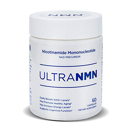 Ultra NMN Nicotinamide Mononucleotide NAD Supplement,Vitamin B3 Family, 260 mg per Serving - NAD Precursor - Help Promote DNA Repair,Boost Energy,Longevity,Improve Metabolism - 60 Capsules