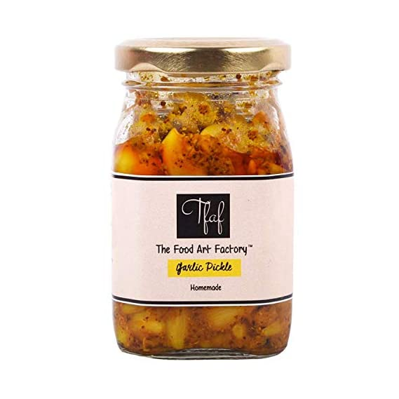 The Food Art Factory Garlic Pickle 200 GMS