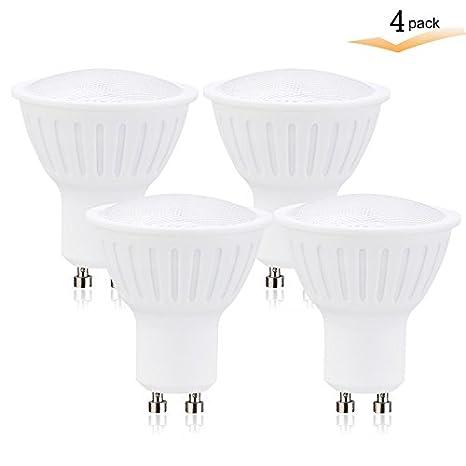GU10 Led Halogen Light Bulbs 7Watt(65w Equivalent) Dimmable Spotlight,Track Lighting Replacement