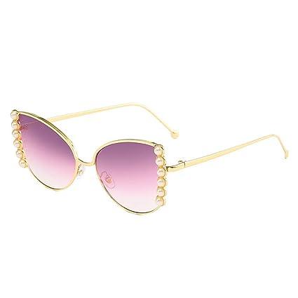 comprar popular ffee6 eda8c XuBa Gafas de Sol de Moda para Mujer con Lentes ...