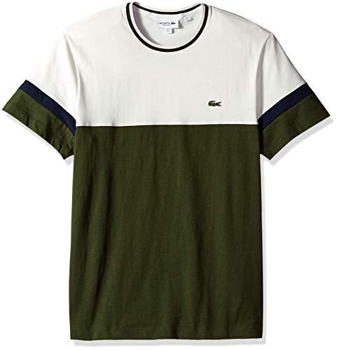 ba064690 Lacoste Men's S/S Colorblock Jersey T-Shirt | Weshop Vietnam