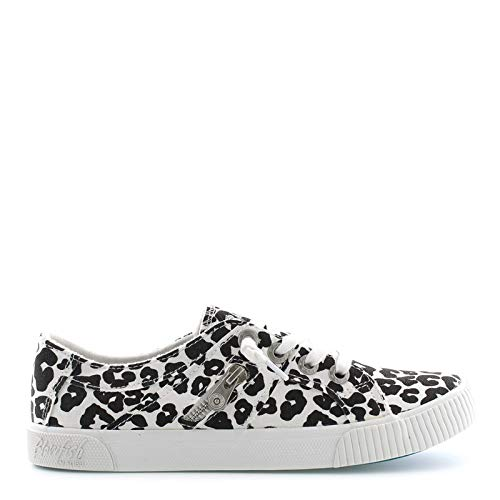 Blowfish Women's Fruit Cream Pop Leopard Print Canvas 10 M US