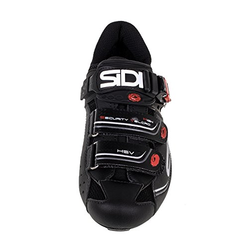 Sidi Genius 7 Road Shoe Black/Black (Eur 46/US 11.5) BsrWeWqG