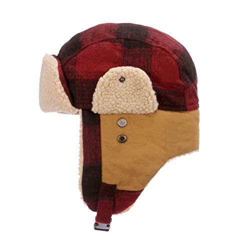 Winter Trapper Hunting Russian Warm Brown Faux Fur Hat