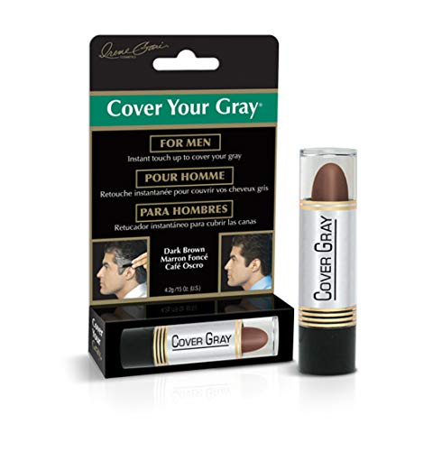 Cover Your Gray Mens Touch-Up Stick - Dark Brown