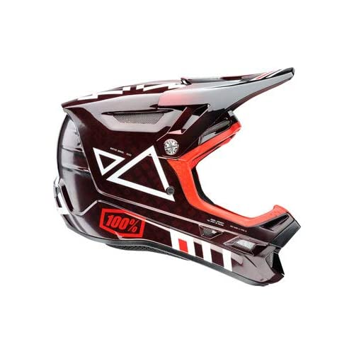 Image of Adult Helmets 100% Aircraft MIPS Carbon Full-Face Helmet: Jeromino XS