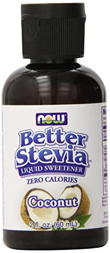 NOW Foods Better Stevia Liquid, Coconut Liquid, 2-Ounce