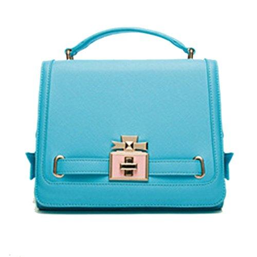 HIFISH HB125181C5 PU Leather Women's Handbag,Square Cross-Section Commuter Bag (Wine Dropshippers)