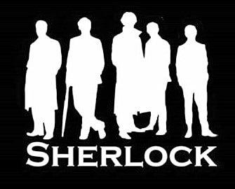 100 Year Old Lady Costume (Sherlock Squad Decal Vinyl Sticker|Cars Trucks Vans Walls Laptop| White |5.5 x 4.5 in|LLI165)