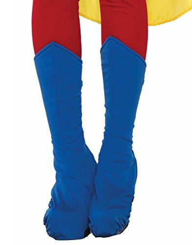 Forum Adult Blue Super Hero Boot Tops ()
