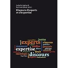 Discours d'experts et d'expertise