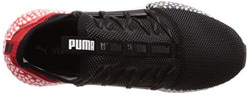Uomo Nero 01 Scarpe Black Hybrid Red Puma Runner Ribbon Running q60npq