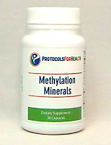 Methylation Minerals | 30 Capsules | Comprehensive Hypoallergenic Trace Mineral Supplement For Optimal Health