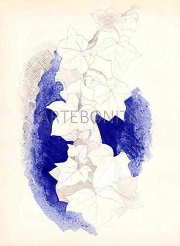 Braque Lithograph - Artebonito Braque Lithograph V31-L07 Carnet intimes - Verve 1955