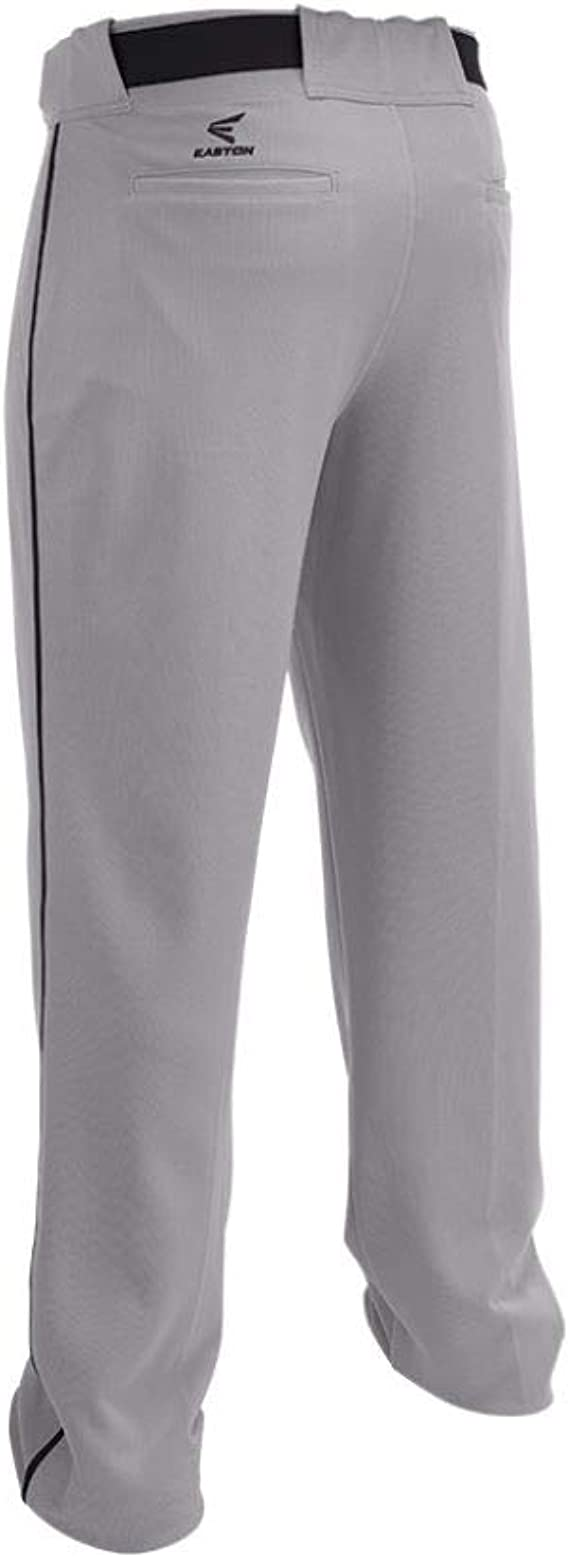 Easton Rival 2 Baseball Softball Piped Pant Adult Piped 2020 Double Reinforced Knee Elastic Waistband W 2 Color Internal Easton Logo 2 Batting Glove Pockets 100 Polyester Clothing Amazon Com