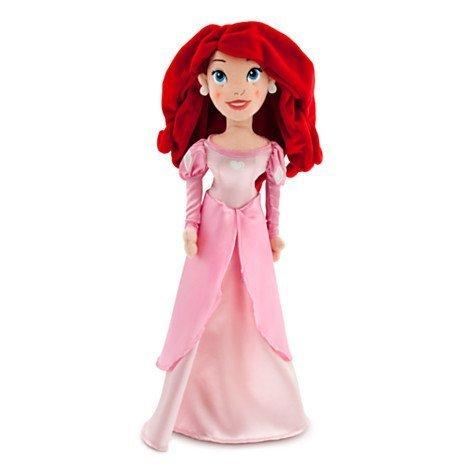 Disney Princess Ariel Plush Doll 21''H from The Little Mermaid